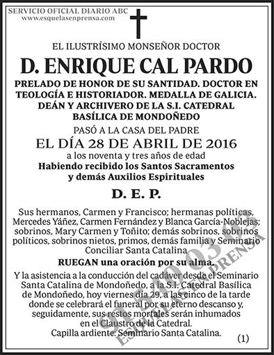 Enrique Cal Pardo